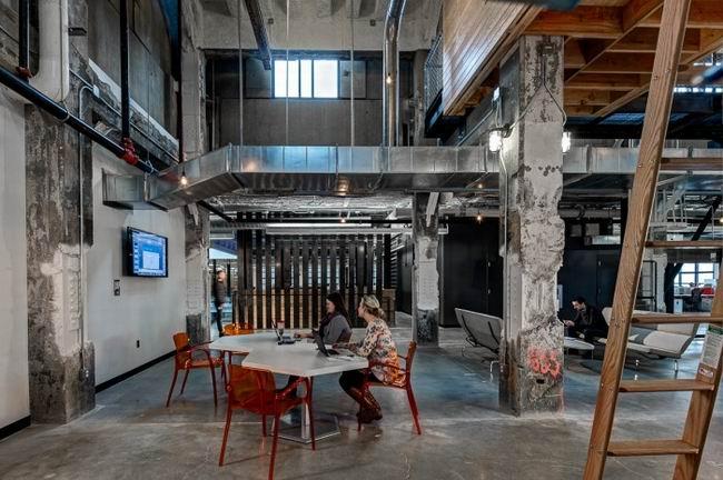 歷史性建築深度吻合辦公空間設計主題