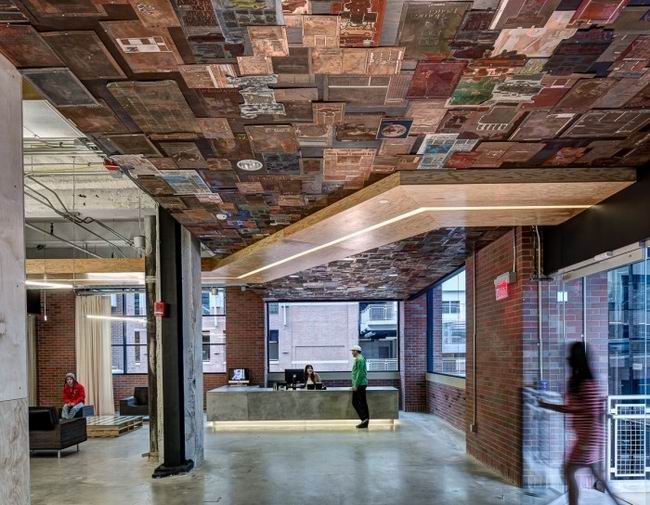 最值得贊揚的天花板工作空間設計創意