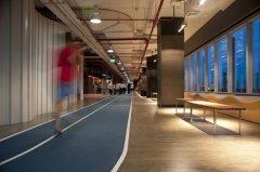 长航大厦420平办公楼装修设计效果
