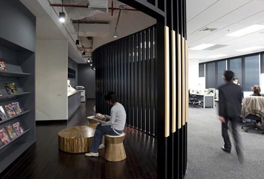 """""""玩與學""""的辦公空間設計概念"""