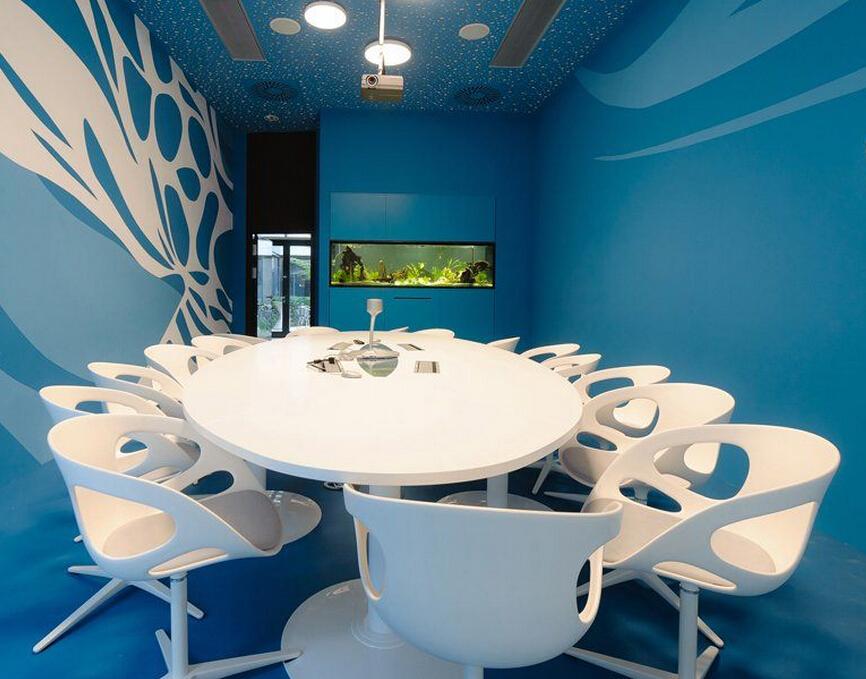 辦公空間設計的主題區域