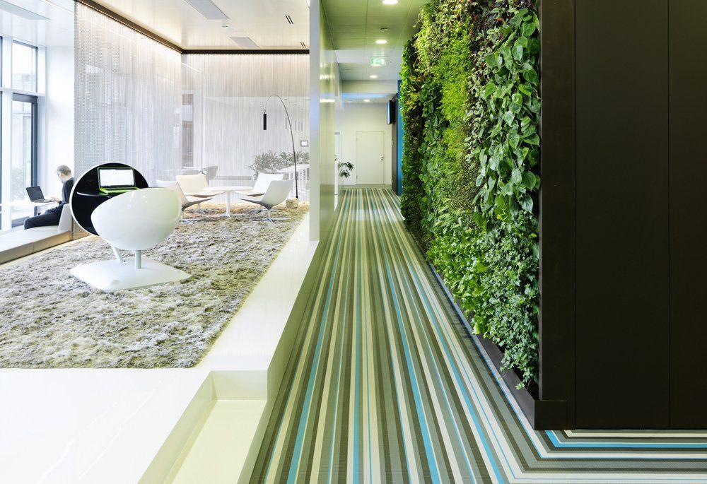 條紋地毯等辦公空間設計元素