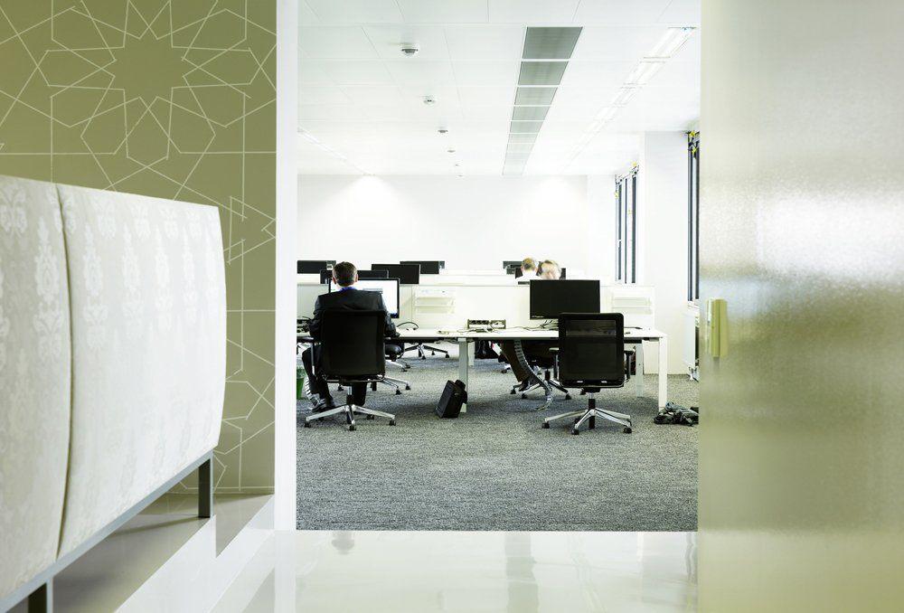 獨特的綠色辦公空間設計