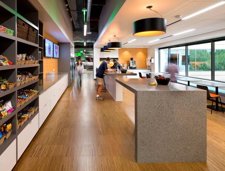 辦公空間設計規劃滿足了社區特性