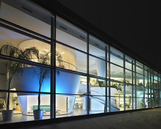 更註重辦公空間照明設計效果