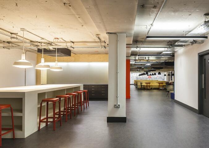 谷歌概念辦公空間設計效果