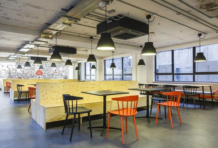 谷歌辦公室是優秀辦公空間設計代表