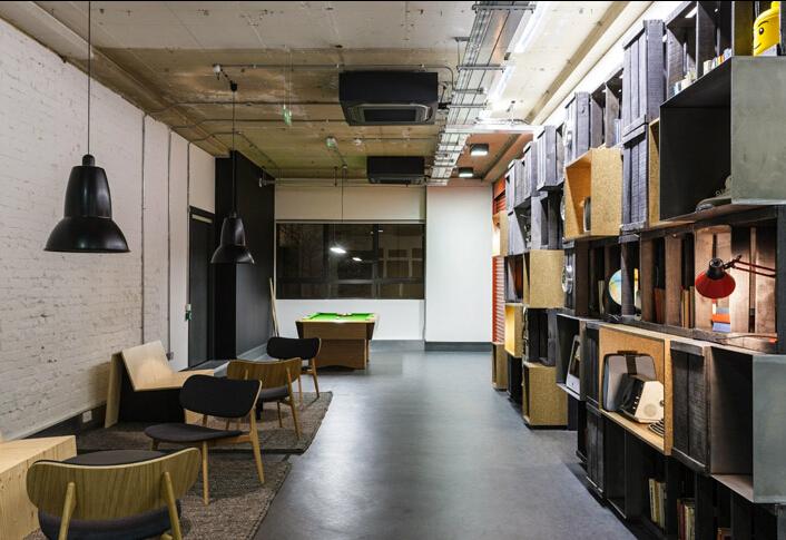 實的辦公空間設計風格