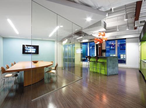 清新活潑的辦公空間設計