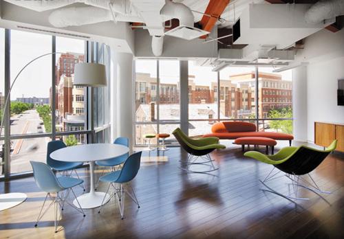 青春之光辦公空間設計的概念