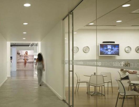 討論區是辦公空間設計裏特色