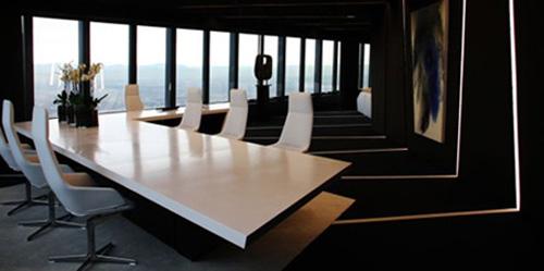 05水晶大樓裏的董事長辦公室空間設計