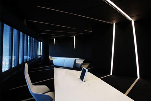同樣色調的辦公空間設計風格