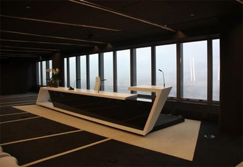 幹凈現代風的辦公空間設計