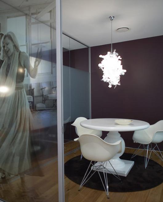 展示柔美氣質辦公空間設計
