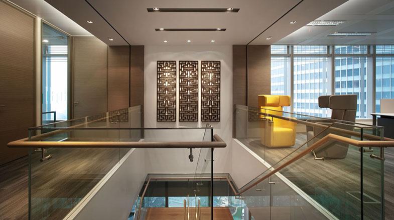 清爽簡約的辦公空間設計風格