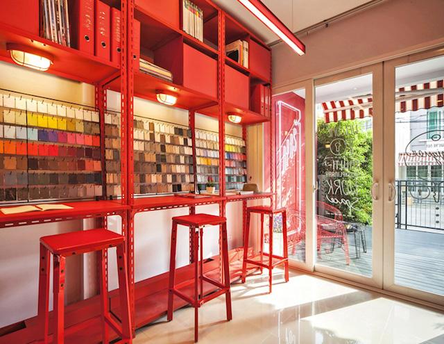 辦公空間設計原理就是創造性使用三原色