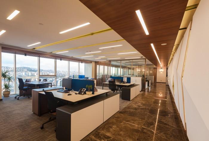 木質辦公空間設計材料為主