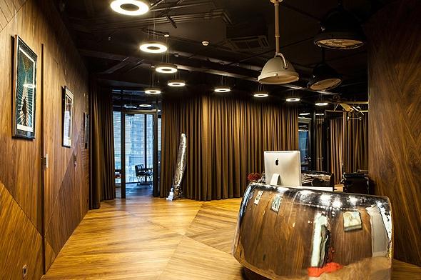 雕刻藝術的辦公空間設計效果