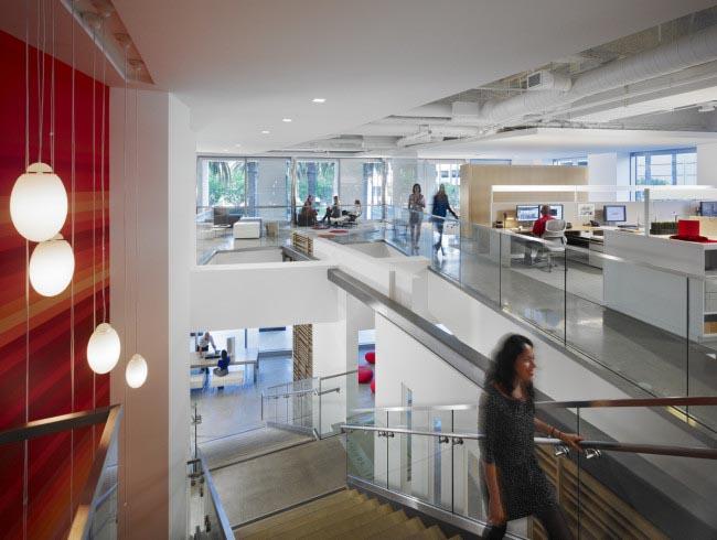 提升工作效率的時尚辦公空間