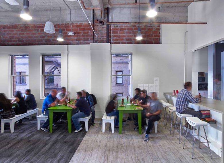 公共設施作為辦公空間設計元素