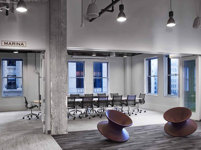 辦公空間設計色彩再主打暖色調