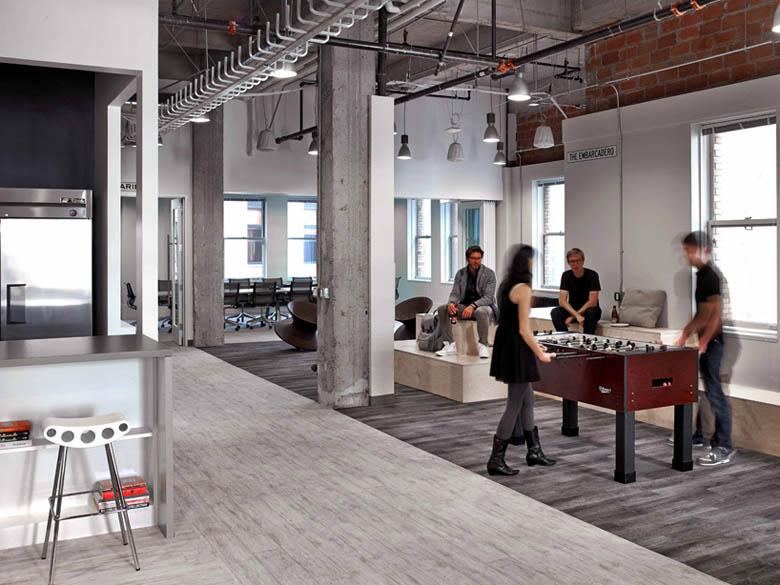 社交類辦公空間設計典範