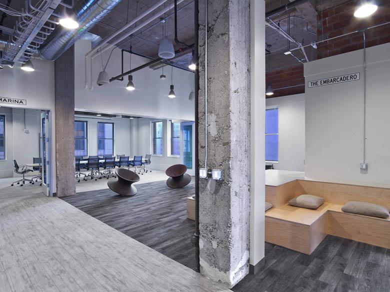 活力優雅主題辦公空間設計