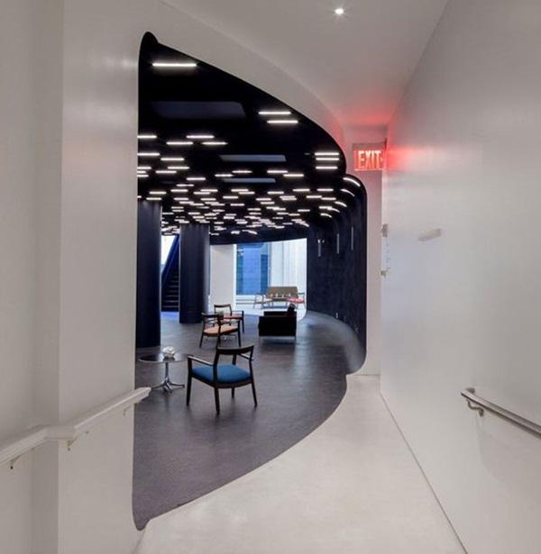 各種各樣的辦公空間設計效果