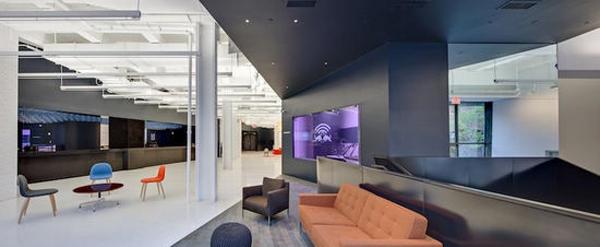 大膽使用辦公空間設計色彩