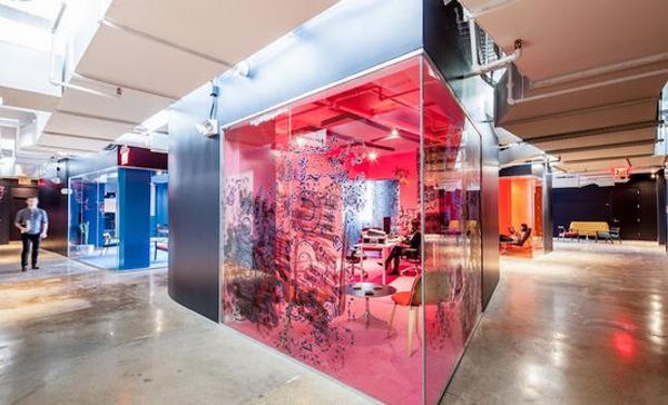 酷炫到爆的辦公空間設計