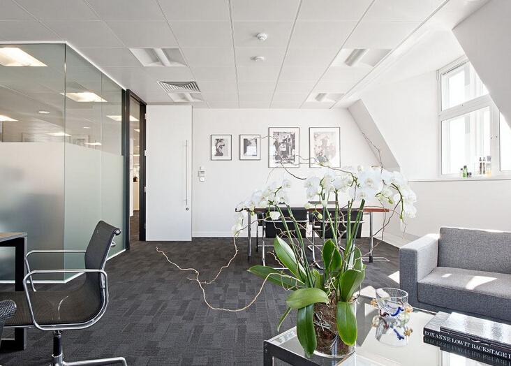 奢華享受的大型辦公空間