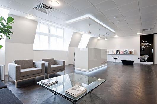 奢侈品形象的辦公空間設計更在乎的是氣質