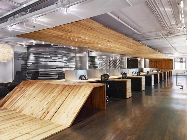 酷炫的辦公空間設計風