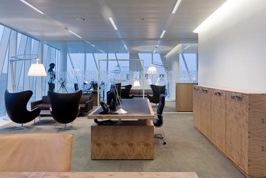 開放和展望的辦公空間設計理念