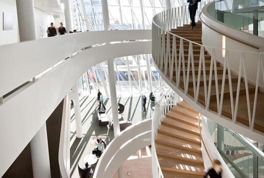 開放性和兼容性共存的辦公空間設計