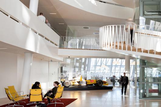 開放辦公空間設計理念帶來擋不住的創意