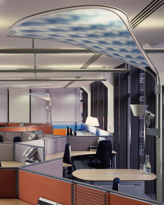 特殊的辦公空間設計元素的使用