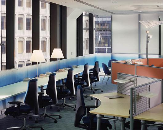 寧靜又現代的個性辦公空間