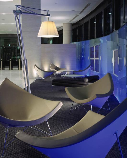 巧妙運用光影與色彩辦公空間設計元素
