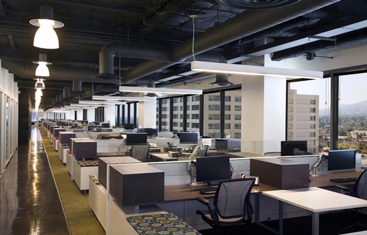 體現團隊概念的特色辦公空間設計