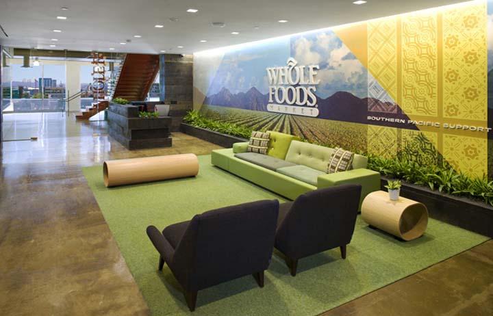 WFM獨特辦公空間設計理念