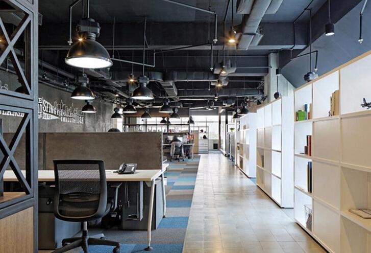 輕松悠閑的辦公空間設計