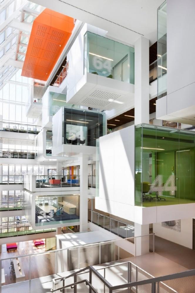 新式整體可持續辦公建築的先驅