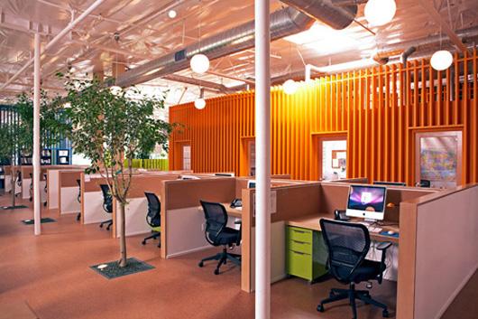 同步實現多種功能的辦公空間設計