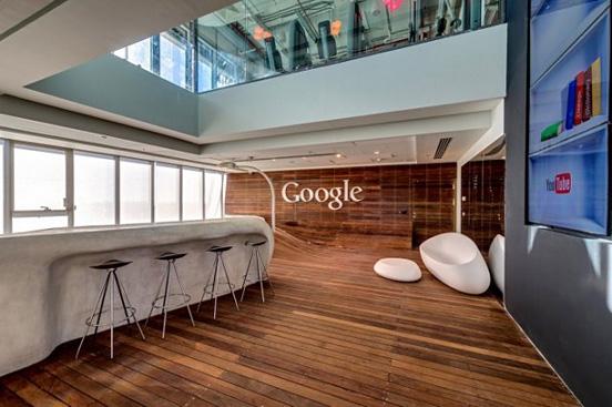 不愛科技愛色彩的谷歌辦公空間設計