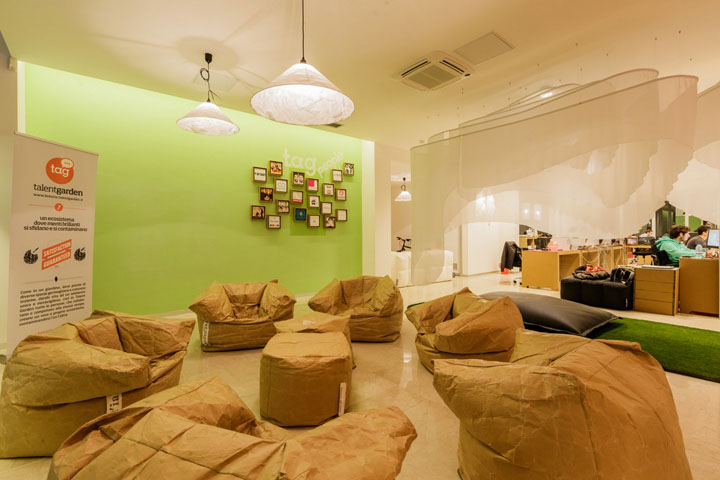 融入創意理念的創意辦公空間設計