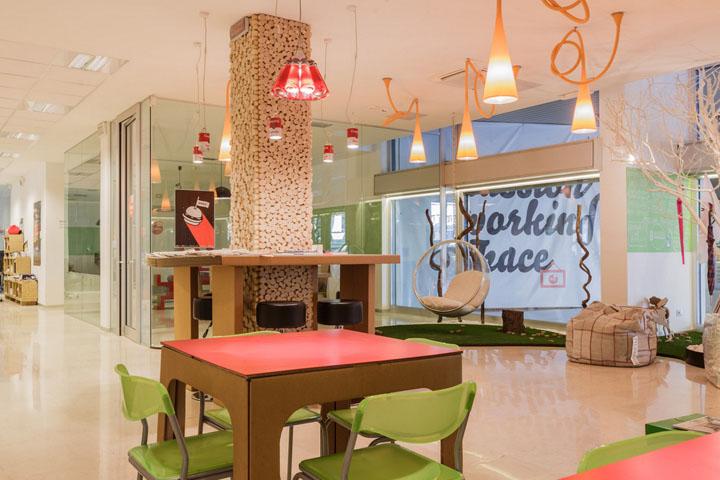 最夢幻的辦公空間設計色彩