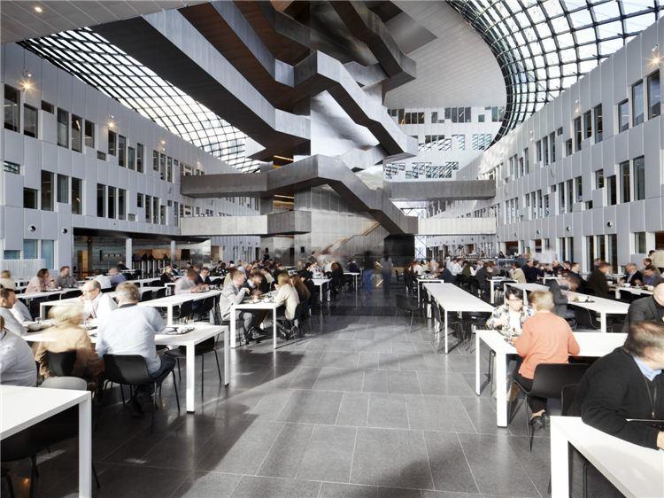 石油公司富有開拓精神的辦公空間設計方式