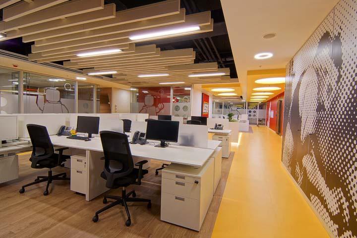 嚴謹與個性的辦公空間設計概念
